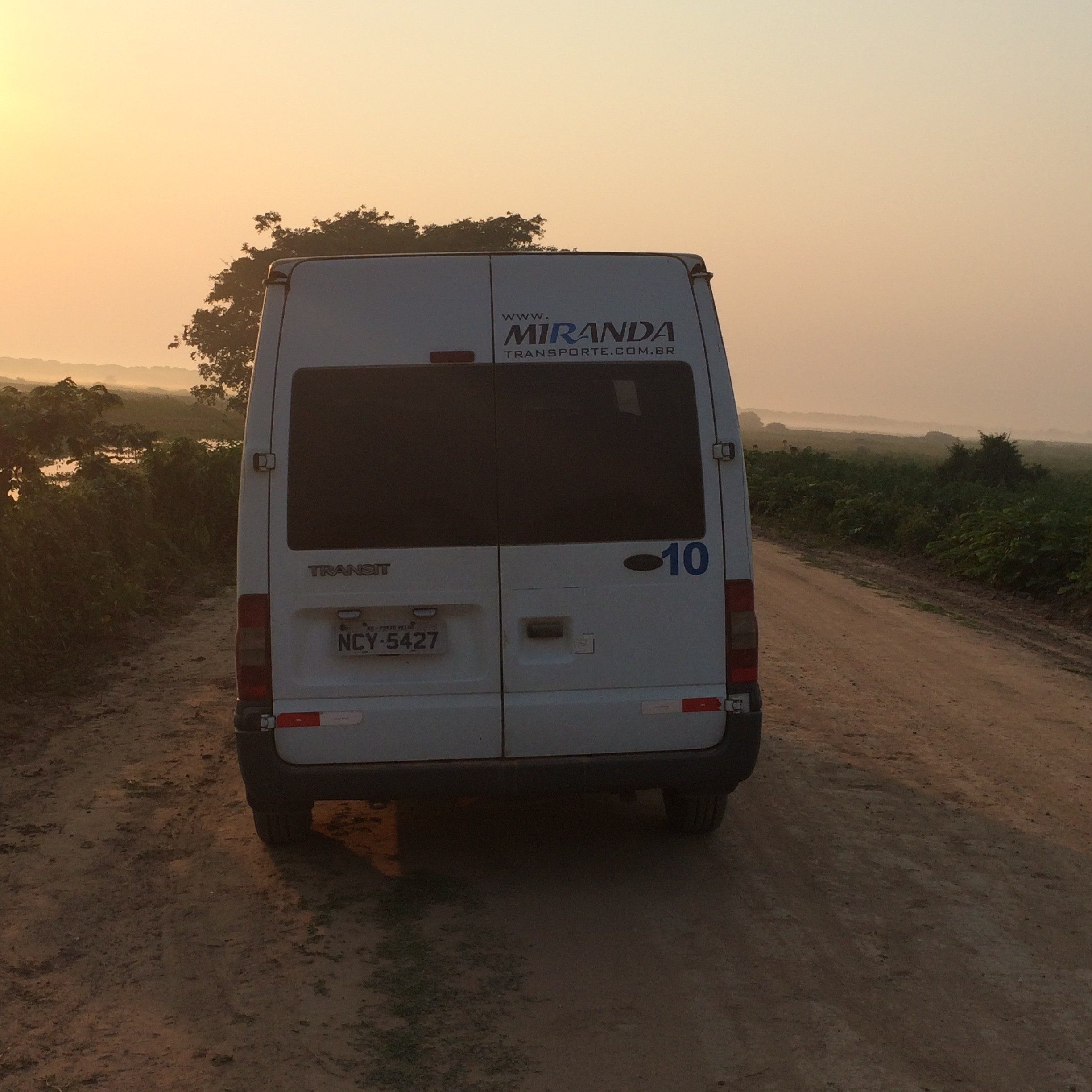 A shuttle to the middle of nowhere Brazil